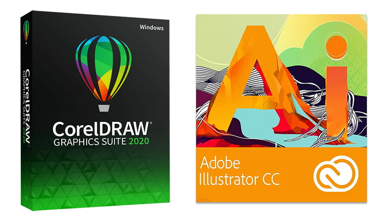 Corel Draw czy Adobe Illustrator