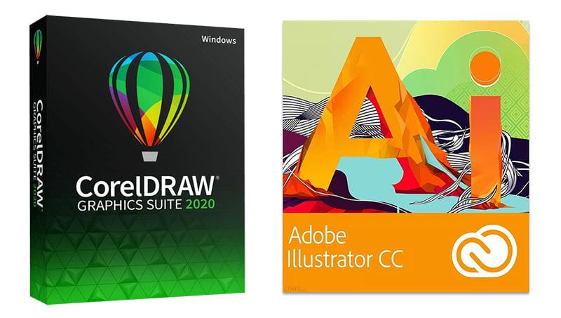 CorelDraw czy Adobe Illustrator
